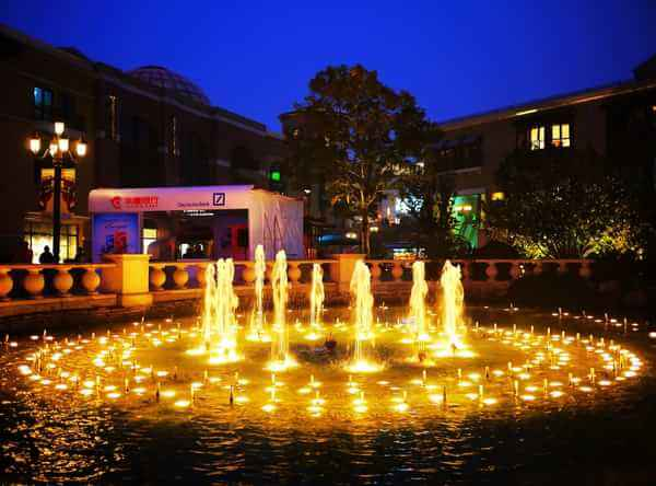 宁夏大成·蓝色港湾景观湖音乐beplay体育在线