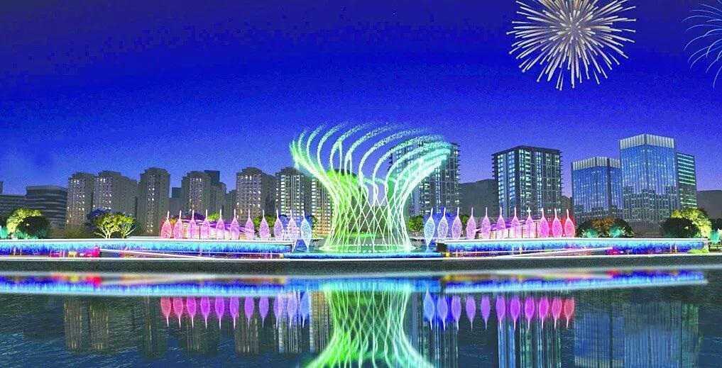 太美了!成都淮州新城大型音乐beplay体育在线即将呈现!